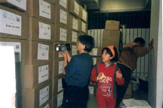 Activité humanitaire de Ruby Villar Documet